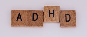 ADHD Block Letter Image