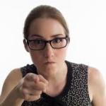 Confrontational Woman's Imagem